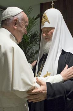 papa Francesco Kirill