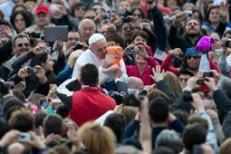 papa francesco udienza generale 3