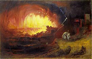 John Martin Sodom and Gomorrah