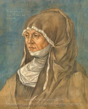 portrait of a woman said to be caritas pirckheimer